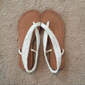 Jessica Simpson beaded sandals